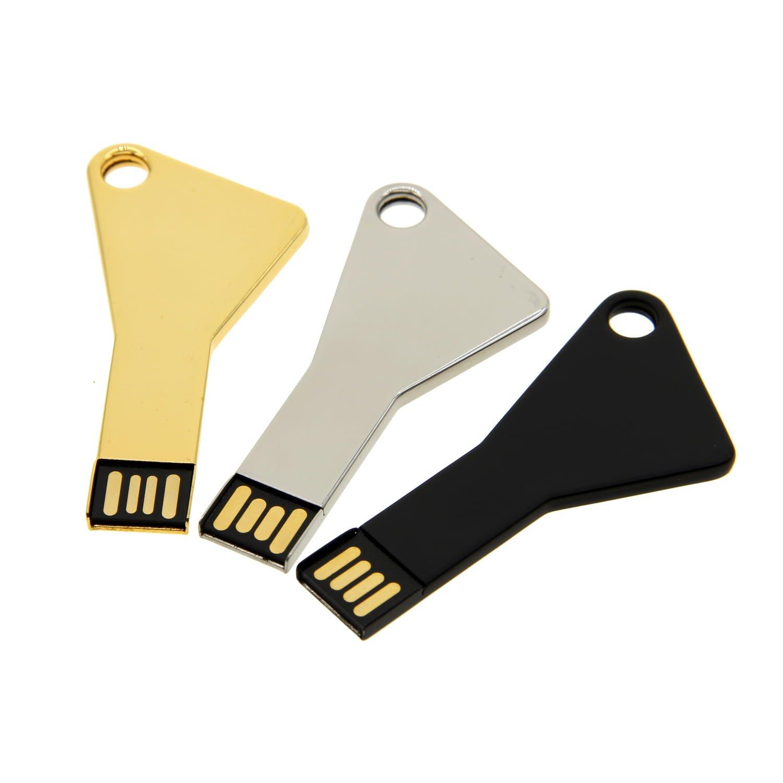 K001 Metal Key Shape USB Flash Drive