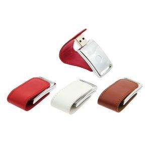 L004 Leather Magnetic USB Flash Drive
