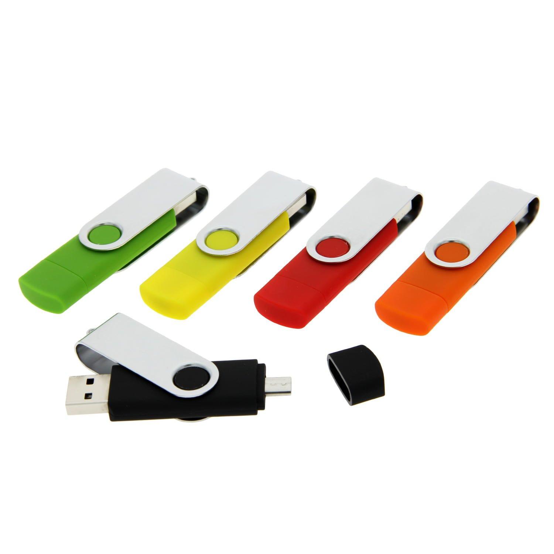 OT02 Swivel OTG USB Flash Drive